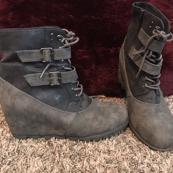 Not Rated Shoes   Wedge Booties   Poshmark